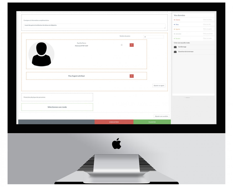logiciel planning gardiennage surveillance sekur